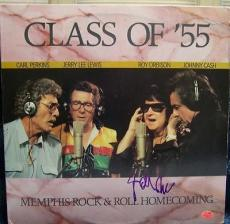 JOHNNY CASH signed CLASS OF'55 - memphis rock & roll homecoming - AUTHENTICATED