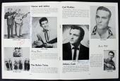 Johnny Cash, Sonny James & Harland Powell Signed 1956 Tour Program BAS #A03163