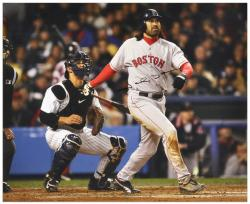 "Johnny Damon Boston Red Sox Autographed 16"" x 20"" Photograph - Mounted Memories"