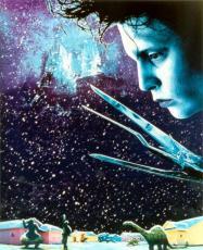 Johnny Depp 8x10 photo (Edward Scissorhands) Image #1
