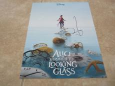 Johnny Depp Alice  Through The Looking Glass Signed Autographed 11x14 Photo