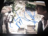 JOHNNY DEPP ARMIE HAMMER SIGNED AUTOGRAPH 8x10 THE LONE RANGER PROMO IN PERSON F