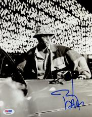 """Johnny Depp Autographed 8"""" x 10"""" Fear and Loathing in Las Vegas In Car Photograph - PSA/DNA COA"""
