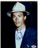 """Johnny Depp Autographed 8"""" x 10"""" Studio Portrait Photograph 2 - PSA/DNA COA"""