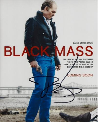 Johnny Depp Signed - Autographed BLACK MASS 8x10 inch Photo - Guaranteed to pass PSA or JSA - Whitey Bulger Story