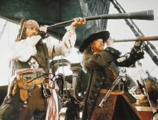 Johnny Depp Signed - Autographed Pirates of the Caribbean 11x14 inch Photo - Guaranteed to pass PSA or JSA - Captain Jack Sparrow