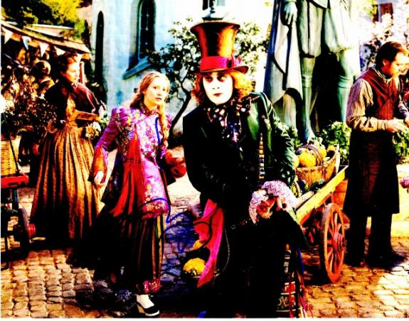 Johnny Depp Signed - Autographed Alice in Wonderland - The Mad Hatter 11x14 inch Photo - Guaranteed to pass BAS