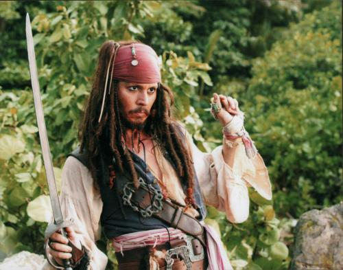 Johnny Depp Autographed Signed 11x14 Jack Sparrow Photo AFTAL