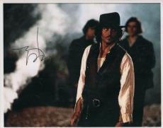 Johnny Depp Autographed Signed 11x14 Man Who Cried Photo AFTAL