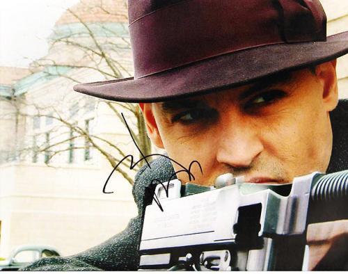 Johnny Depp Autographed Signed 11x14 Public Enemies Photo AFTAL