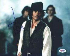 Johnny Depp Autographed Signed 8x10 Photo PSA/DNA #Q91316