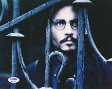 Johnny Depp Autographed Signed 8x10 Photo PSA/DNA #Q91323