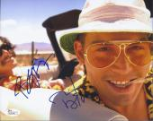 Johnny Depp & Benicio Del Toro Signed 'fear & Loathing Las Vegas' 8x10 Photo Jsa