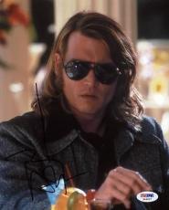 Johnny Depp Blow Signed 8x10 Photo Autographed Psa/dna #x44427