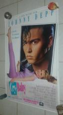 Johnny Depp Cry Baby Movie Poster 27x40 1989 Universal Studios Authentic Poster