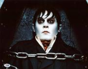 Johnny Depp Dark Shadows Signed 11X14 Photo Autograph PSA/DNA #S33530