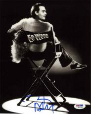 Johnny Depp Ed Wood Autographed Signed 8x10 Photo Certified Authentic PSA/DNA