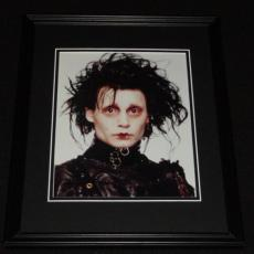 Johnny Depp Edward Scissorhands Framed 8x10 Photo Poster