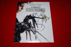 JOHNNY DEPP edward scissorshands DANNY ELFMAN disney signed 11x14 COA