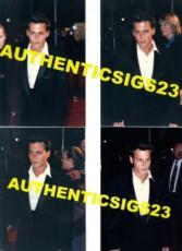 Johnny Depp Hot! New! Original Set Of 4 Candid 4x6 Photos Sexy!