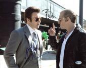 Johnny Depp & Joel Edgerton Black Mass Signed 11X14 Photo BAS #C37522