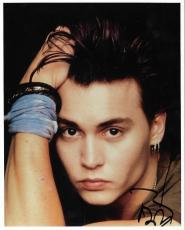 Johnny Depp Movie Legend Signed Autographed 8x10 Photo W/coa Authentic Rare