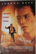 Johnny Depp Nick Of Time Signed 27X40 One Sheet Poster PSA/DNA #I81853