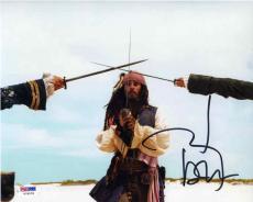 Johnny Depp Pirates Autographed Signed 8x10 Photo PSA/DNA