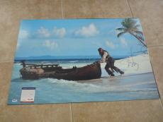 Johnny Depp Pirates MUSEUM PIECE Signed Autographed 20x30 Photo PSA Certified #2