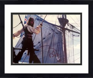 JOHNNY DEPP (Pirates of Caribbean) signed Photo 11x14 -PSA #J51236