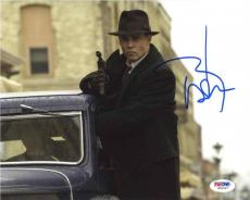 Johnny Depp Public Enemies Autographed Signed 8x10 Photo Certified PSA/DNA AFTAL