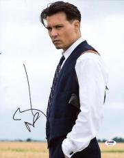 Johnny Depp Public Enemies Signed 11x14 Photo Psa/dna #x11773