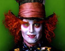 Johnny Depp Signed 11x14 Alice In Wonderland Poster Photo Video Proof UACC RD AF