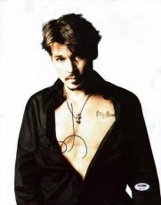 Johnny Depp Signed 11X14 Photo Autographed PSA/DNA #X11772