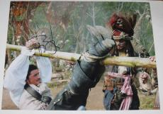 Johnny Depp Signed 11x14 Photo Pirates Of The Caribbean Autograph Coa C