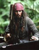 Johnny Depp Signed 11X14 Photo w/ Graded 10 Autograph! PSA/DNA #W04393