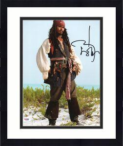 Johnny Depp Signed 11X14 Photo w/ Graded 10 Autograph! PSA/DNA #W04394