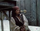 Johnny Depp Signed 11X14 Photo W/ Graded 10 Autograph! PSA/DNA #W04430