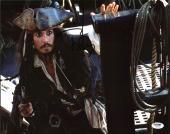 Johnny Depp Signed 11X14 Photo w/ Graded 10 Autograph! PSA/DNA #W04442