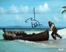 Johnny Depp Signed 11x14 Photo W/ Graded 10 Autograph! Psa/dna #w04443