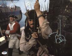Johnny Depp Signed 11X14 Photo w/ Graded 10 Autograph! PSA/DNA #W04446