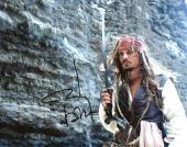 Johnny Depp Signed 11X14 Photo w/ Graded 10 Autograph! PSA/DNA #W04460