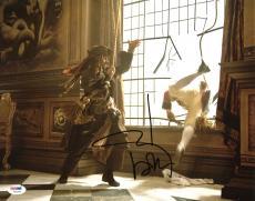 Johnny Depp Signed 11X14 Photo w/ Graded 10 Autograph! PSA/DNA #W04466