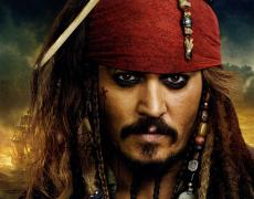 Johnny Depp Signed 11x14 Pirate Poster Photo Video Proof UACC RD AFTAL COA