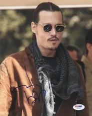Johnny Depp Signed 8x10 Photo Autographed Psa/dna #u65619