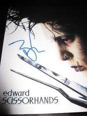 JOHNNY DEPP SIGNED AUTOGRAPH 8x10 EDWARD SCISSORHANDS IN PERSON COA AUTO RARE K