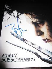 JOHNNY DEPP SIGNED AUTOGRAPH 8x10 EDWARD SCISSORHANDS IN PERSON COA AUTO RARE K