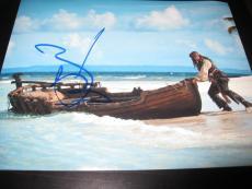 JOHNNY DEPP SIGNED AUTOGRAPH 8x10 PHOTO PIRATES OF THE CARIBBEAN PROMO COA NY X1