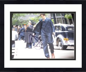 JOHNNY DEPP SIGNED AUTOGRAPH 8x10 PHOTO PUBLIC ENEMIES PROMO IN PERSON COA NY3