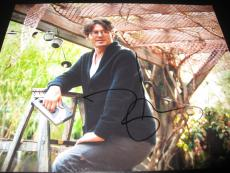 JOHNNY DEPP SIGNED AUTOGRAPH 8x10 PHOTO TRANSCENDENCE PROMO IN PERSON COA AUTO E